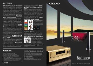 Believe - Onkyo