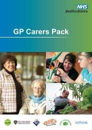 GP Carers Pack - Bedford Borough Council