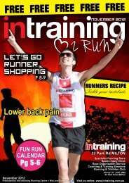 Love 2 Run Magazine - Intraining