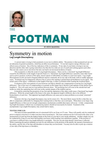 Symmetry in motion - Intraining