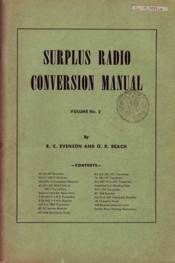 surplus conversion manual - Introni.it