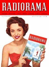 Radiorama 1957_01 - Introni.it