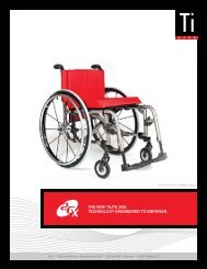 the new tilite 2gx. technology engineered to empower. - Invacare