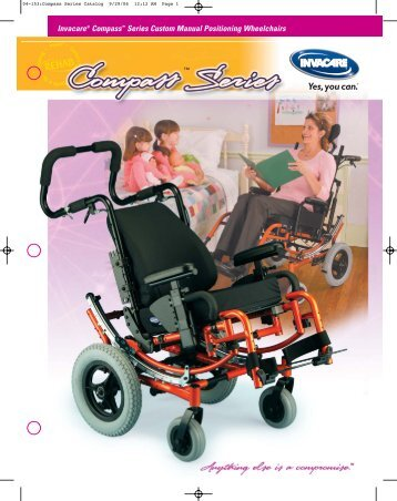 Compass XE wheelchairs - Invacare