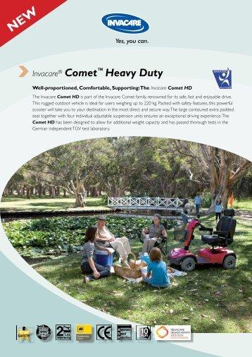 Invacare® Comet™ Heavy Duty