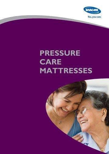 PRESSURE CARE MATTRESSES - Invacare