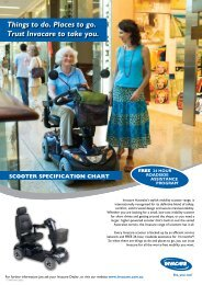 Things to do. Places to go. Trust Invacare to take ... - Invacare Australia