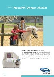 HomeFill ® Oxygen System