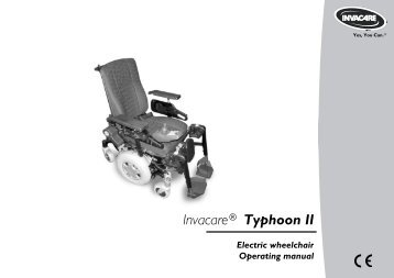 Electric wheelchair - Invacare