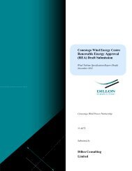 Draft Wind Turbine Specification - Invenergy