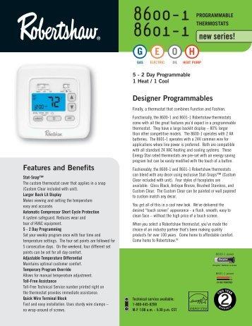 t6031e h rh yumpu com robertshaw thermostat manual c8600 robertshaw thermostat 8600 troubleshooting