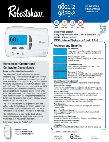 9801i2 and 9825i2 deluxe programmable robertshaw thermostats?quality=85 robertshaw slimzone wiring diagram hunter wiring diagram, gibson  at fashall.co