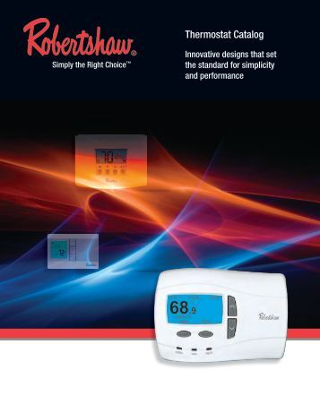 Thermostat Catalog - Invensys Controls