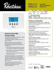 2 Stage 24 Volt Diaphragm 700-424 Gas Control Valve Robertshaw Furnace