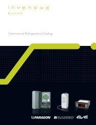 Commercial Refrigeration Catalog - Invensys Controls