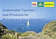 Sustainable Tourism - Invent Tourismus