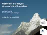 Méthodes d'analyse des marchés financiers - Invesco Europe