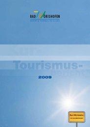 Jahresbericht 2009 - Wirtschaftsstandort Bad Wörishofen