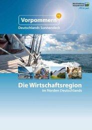 Standortbroschüre Vorpommern - Wirtschaftsfördergesellschaft ...