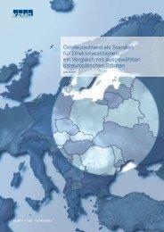 ein Vergleich mit ausgewählten osteuropäischen Städten