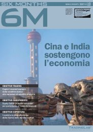 Cina e India sostengono l'economia - Tradinglab - UniCredit