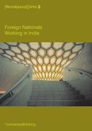 Foreign Nationals Working in India