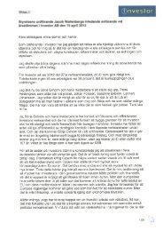 Bilaga 1-15. Årsstämma 2013 (exkl bil 2 och 14 Röstlängd ... - Investor