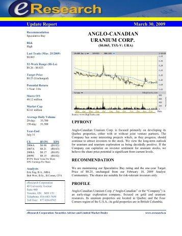 eResearch Initiating Report - InvestorIdeas.com