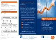 Download Membership Brochure - Australian Investors Association