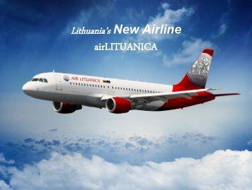 Lithuania's new air operator airLITUANICA - Investors' Forum