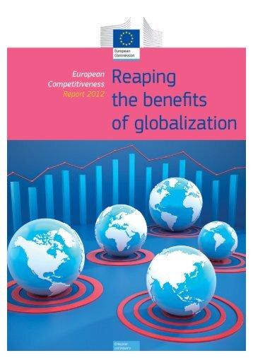 European Competitiveness Report 2012 - Investors' Forum