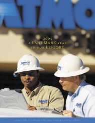 2005 Atmos Energy Corporation - PDF, 1.8 MB - InvestQuest