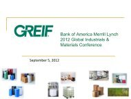 Bank of America Merrill Lynch 2012 Global Industrials ... - InvestQuest