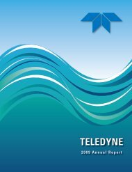 TELEDYNE - InvestQuest
