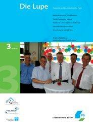 Die Lupe 3/2010 - Hauszeitschrift des ... - Diakoniewerk Essen