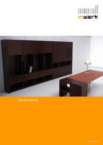 Schrankwände - Büromöbel