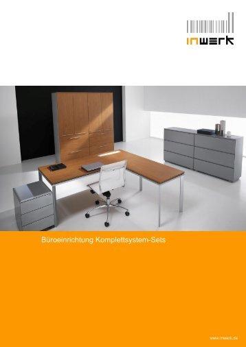 Büroeinrichtung Komplettsystem-Sets - Büromöbel
