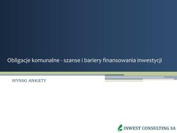 Prezentacja wyników sondażu - Inwest Consulting SA