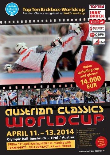 WAKO Worldcup Austrian Classics 2014
