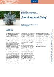 """""""Entwicklung durch Dialog"""" - Institut für Organisationsberatung und ..."""