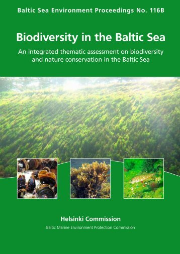 BSEP116B Biodiversity in the Baltic Sea - Helcom