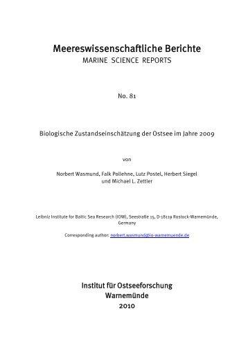 wasmund, n., pollehne, f., postel, l., siegel, h., zettler, m.l. 2010 - IOW