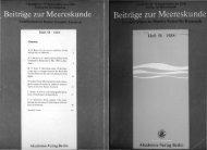 1 J Heft 58 . 1988 Akademie-Verlag Berlin - IOW