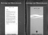 Heft 53 . 1985 Akademie-Veriag Berlin - IOW