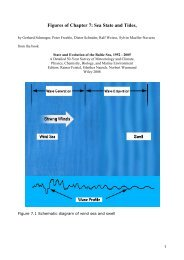 Figures of Chapter 7: Sea State and Tides,