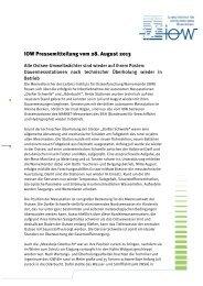 Ostsee-Umweltwächter sind wieder auf ihrem Posten - IOW
