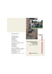 Wintersemester 2007/08 - International Office - Universität Bremen