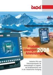 Produktübersicht– W indow s® XP-basierte Term inals - DLoG