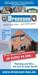 ab EURO 94.500 - - Baugeschäft Dreessen