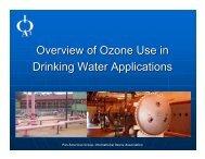Drinking Water Applications - International Ozone Association